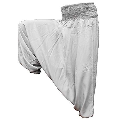 PANASIAM Aladin Pants Plain Light Grey