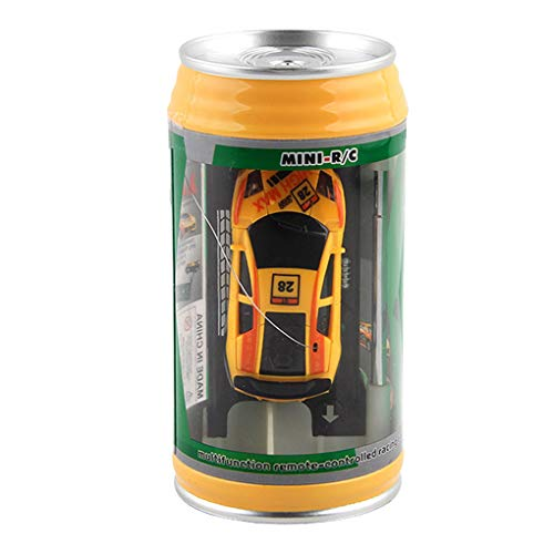 GFCGFGDRG 01.45 Kinder Kunststoff-4-Rad-Dosen Fernbedienung Auto Mini Mini-Fernbedienung Canned RC Fahrzeug Kleine Kinder Spielzeug in Dosen