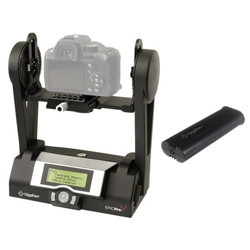 GigaPan Epic Pro V Robotic Camera Mount with Additional Battery Kit