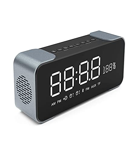 XinC Altavoces Bluetooth, Altavoz inalámbrico Bluetooth, Altavoces inalámbricos portátiles con Sonido HD, Altavoz inalámbrico Impermeable IPX7, Sonido estéreo Claro, para Fiesta, Viajes,Negro
