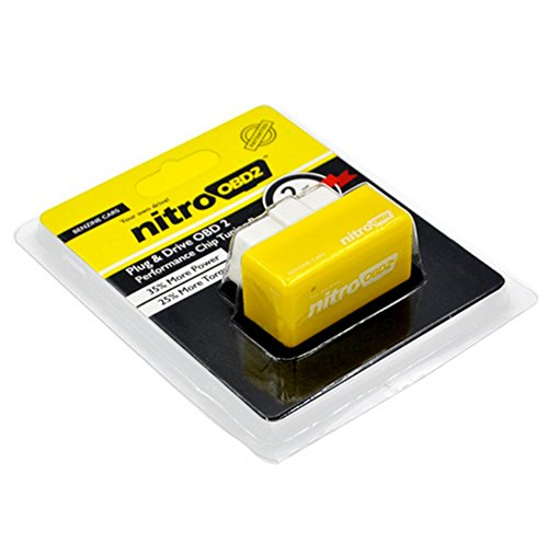 nitroOBD2 - Chip tuning para los vehículos de gasolina. 35% más de potencia y un 25% más de par motor.