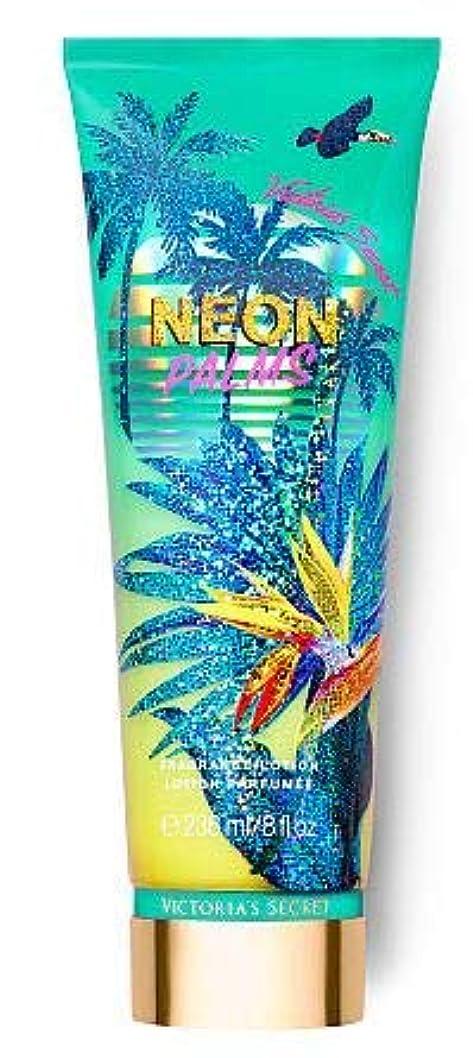 ばかげた消化そよ風Victoria's Secret(ヴィクトリアシークレット) Tropic Dreams Fragrance Lotions NEON PALMS [並行輸入品]