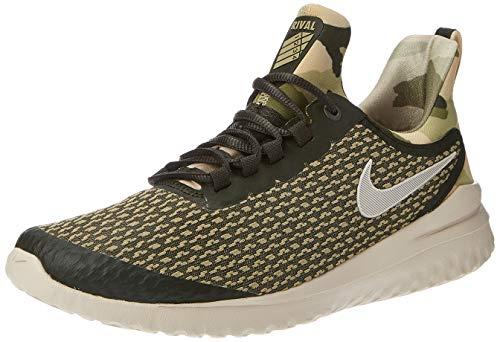 Nike Herren Renew Rival Camo Leichtathletikschuhe, Mehrfarbig (Sequoia/Lt Orewood BRN/Medium Olive 300), 44.5 EU