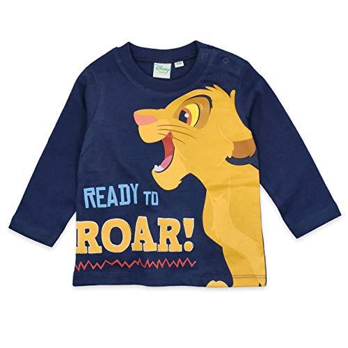 Disney The Lion King T-Shirt à Manches Longues pour bébé garçon - Bleu - 6-12 Mois