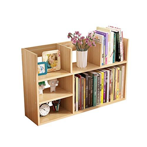 Xiao Jian Boekenkast voor studenten, boekenkast voor kinderen, kantoorrek voor slaapzak, bibliotheek 80x20x50cm Een