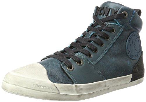 Yellow Cab Herren Grind M Hohe Sneaker, Blau (Blue), 47 EU