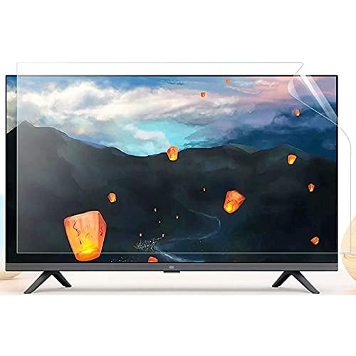 AJDGL Protector de Pantalla de TV de 42 Pulgadas - Película de Filtro de Pantalla con Alivio de luz Azul Ultra Clara para Pantallas LCD, LED, 4K OLED y QLED HDTV,42'(930 * 525mm)