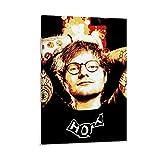 caomei Ed Sheeran Poster, dekoratives Gemälde, Leinwand,