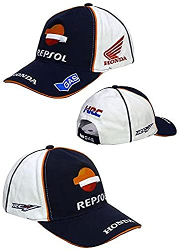 Gorra oficial Honda Racing Gas Repsol Moto GP MARQUEZ...