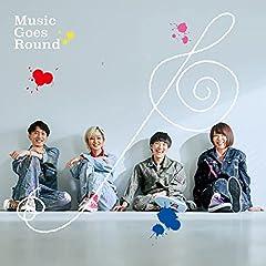 Hi Cheers!「Music Goes Round」のCDジャケット