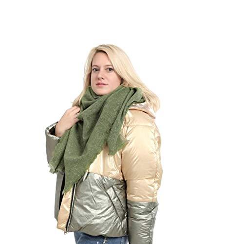 Winter deken sjaal dames vierkant - super zacht - mix voyeur Geslacht