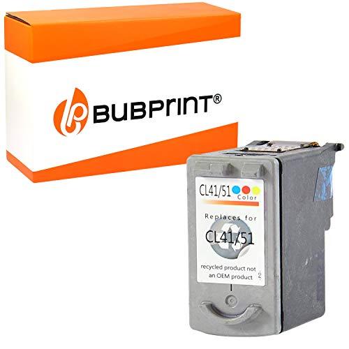 Bubprint Druckerpatrone kompatibel für Canon CL-41 für Pixma IP1600 IP1700 IP2200 IP2500 IP2600 MP140 MP150 MP160 MP170 MP180 MP190 MP210 MP220 MP450 MP450X MP460 MX300 Color