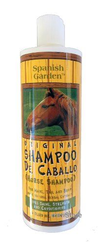 Original Horse Shampoo De Caballo By Spanish Garden 16 Oz. &...
