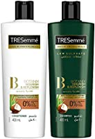 Tresemme Shampoo Botanics 400ml + Tresemme Conditioner Botanics 400ml