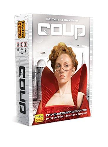 COUP IBCCOU1 Juguete Indie Boards & Cards, Versión en inglés