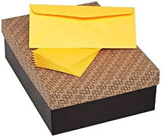 "Limited Papers (TM) Envelopes, 10 Commercial Flap, Vellum Finish, 24lb / 60 text (89 gsm), 4-1/8"" x 9-1/2"" (Ultra Orange, 500)"