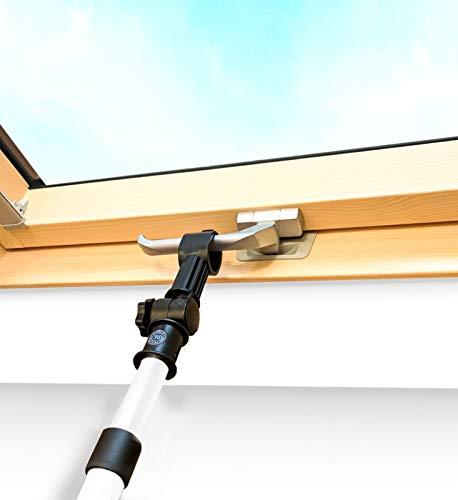 Diseñado para Optilight - Abrepostes telescópico para ventanas de techo y persianas (1,1 – 2 m)