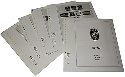 Lindner T Vordruckbl er T195 42 Norwegen - Jahrgang 1942 bis 1971