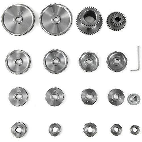 VEVOR 18 teile satz CJ0618 Drehmaschine Mini Drehmaschine Getriebe Metallschneidemaschine Getriebe Drehmaschine Getriebe Metall