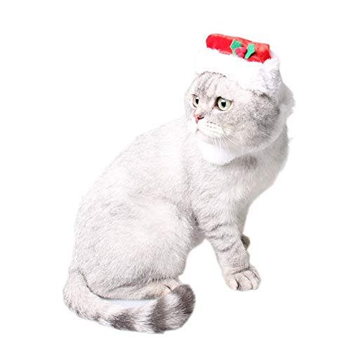 Yiwa kerstmuts voor katten, zacht, voor huisdieren