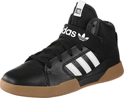 adidas Herren Vrx Mid Skateboardschuhe, Schwarz (Negro 000), 44 2/3 EU