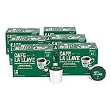 Café La Llave -72 Ct. Espresso Style, Recyclable Coffee Pods, Compatible with Keurig K-Cup Brewers