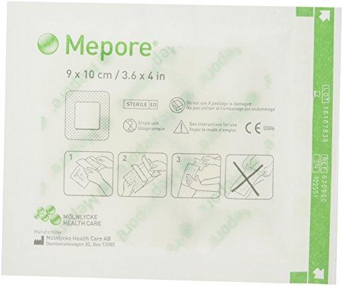 Mepore 670900 verbanden, 10 cm x 9 cm (50 stuks)