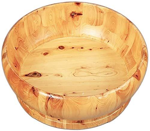 QIANSHI Détails décident la qualité Bain de Pieds Baril, Seau Fumigation Bowl Pieds Wash Barrel, Mousse Bowl, Bassin Pédicure, en Bois Massif pédiluve, Ménage des Pieds, Chaud Partout