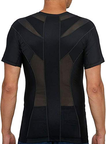Anodyne Posture Shirt 2.0 – Herren   Haltungsshirt zur Haltungskorrektur   Bessere Körperhaltung   Reduziert Schmerzen & Spannungen   Medizinisch geprüft und zugelassen  