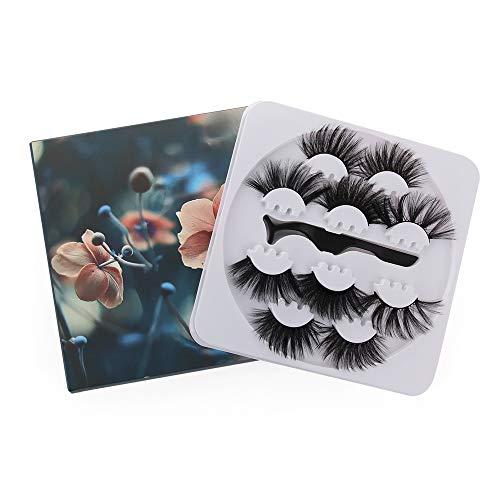 Mode Lange Dramatik Erweiterung der Lash Tweezer 25mm False Augenbrauen 3D Augenklappen Mink False Lashes Erstellen von Werkzeugen