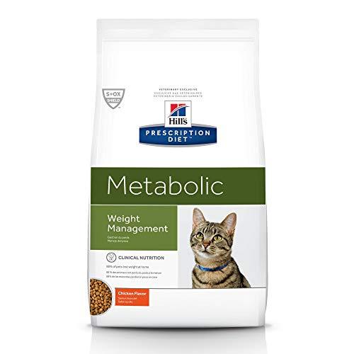 Hill's Prescription Diet Metabolic Weight Management Chicken Flavor Dry Cat Food, 8.5 lb Bag