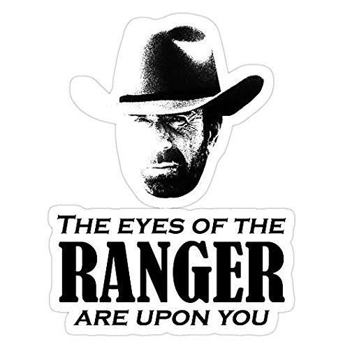 Walker Texas Ranger Merchandise (Chuck Norris), Walker Decal Sticker - Peel N Stick Sticker Graphic Decal