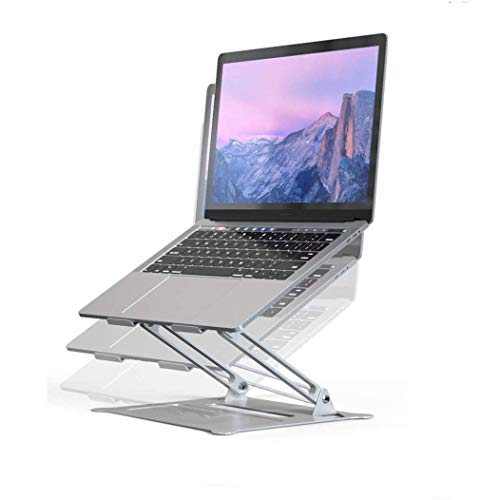 Adjustable Laptop Stand, Ergonomic Portable Computer Stand with Heat-Vent to Elevate Laptop, 13 Lbs Heavy Duty Laptop Holder Compatible with MacBook, Air, Pro All Laptops