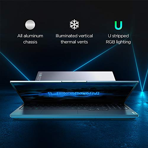 Lenovo Legion 7i 10th Generation Intel Core i7 15.6 inch FHD Gaming Laptop (16GB/1TB SSD/Windows 10/MS Office/NVIDIA RTX 2070 Graphics/Grey/2.2Kg), 81YU0029IN