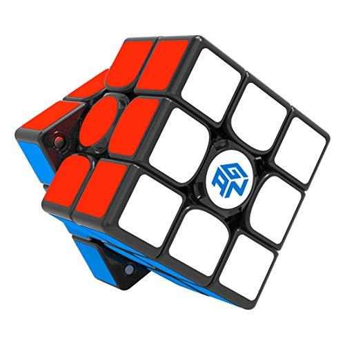 GAN 356 i v2 con Stickers, 3x3 Smart Speed Cubo Seguimiento Inteligente Movimiento de Sincronización Paso con CubeStation App (Robot No Incluido)