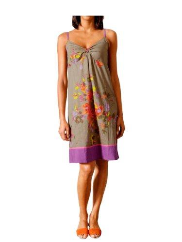 Linea Tesini Damen-Kleid Druckkleid Mehrfarbig Größe 36