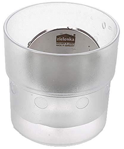 zilofresh G00046 Lufterfrischer Kühlschrank Classic, ohne chemische Zusätze, Natürlicher Geruchsneutralisierer, Geruchsentferner mit langer Wirkungsdauer, Made in Germany (Acryl Weiß)