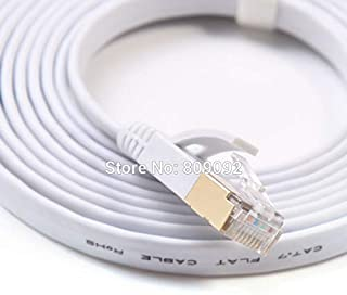 Computer Cables & Connectors - High Speed Network Cable 15M/20M/25M/30M Ethernet Cable Cat7 RJ45 M/M Thin High Speed Flat ...