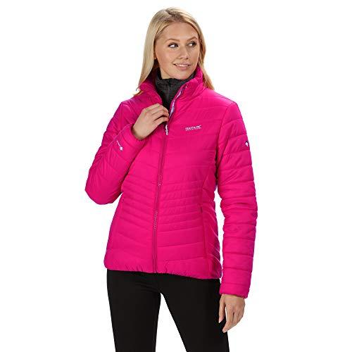 Regatta Damen Freezeway Damen Daunenjacke, rosa, 44 (Herstellergröße: 46)