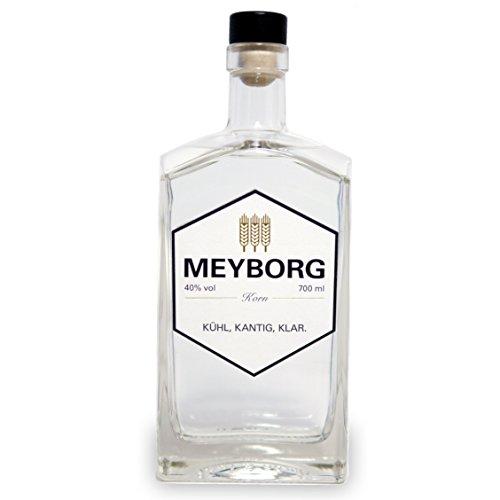 MEYBORG Korn - 40% - 0,7l - Norddeutscher Korn-Brand aus 100% Weizen, ideales Geschenk