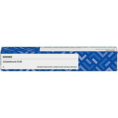 Solimo Amazon Brand Aluminum Foil