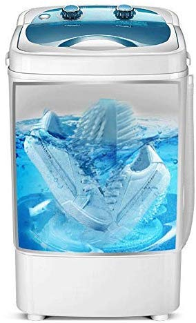 LLDKA intelligente compacte wasmachine, kleine schoenen, wasmachine, draagbare mini-schoenen, energiebesparend, superieur design