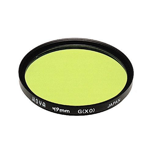 Hoya - Filtro roscado HMC, Color Amarillo/Verde