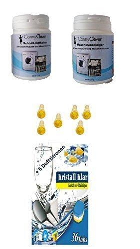 Spülmaschinen Set / Reinigung und Pflege für den Geschirrspüler