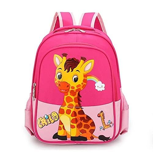 XMYNB Schultaschen Kinderschultasche Kindergarten Jungen Mädchen Mode Cartoon Rucksack Baby Nette Leichte Rucksäcke Für Kinder-B