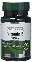 Natures Aid Vitamin E 1000iu, 30 Softgels (Natural Source Vitamin E, High Strength, Protects Cells from Oxidative Stress, Made in the UK)