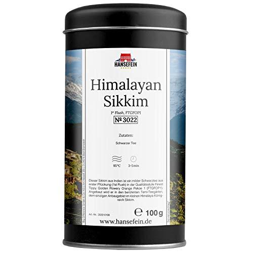 Hansefein Himalayan Sikkim Schwarzer Tee 1st Flush FTGFOP1 100g