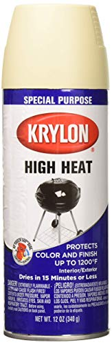 KRYLON PRODUCTS GROUP K01407000 Stove and Propane Paint, 12 Ounce (Pack of 1), Beige