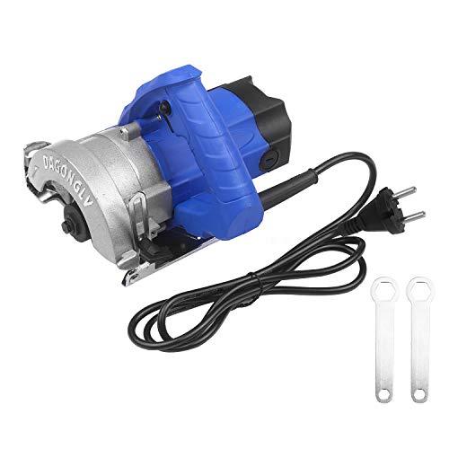 Sierra circular eléctrica de 1380 W, máquina cortadora multifuncional, profundidad máxima de...