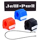 JAW.PWR Jaw Exerciser Jawline, Face and Neck Exerciser for Men and Women (3 Pack...